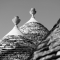 Dachansichten - Trulli in Alberobello
