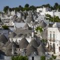 Dachansichten - Trulli-Stadt Alberobello