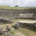 antikes Theater für 18.000 Zuschauer bei Dodóna (Epiros); 24.05.2013