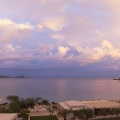 Abendstimmung in der Lichnos Bucht bei Parga (Epiros); 31.05.2013