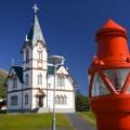 Kirche in Húsavik; 23.07.2006