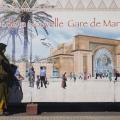 Straßenszene in Marrakech