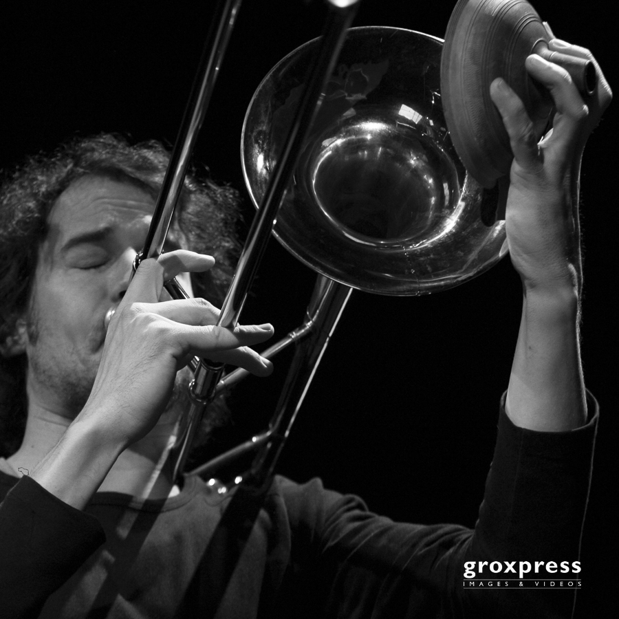 Nabatov-Wogram-Duo: Nils Wogram (trombone); Alter Schl8hof Wels,