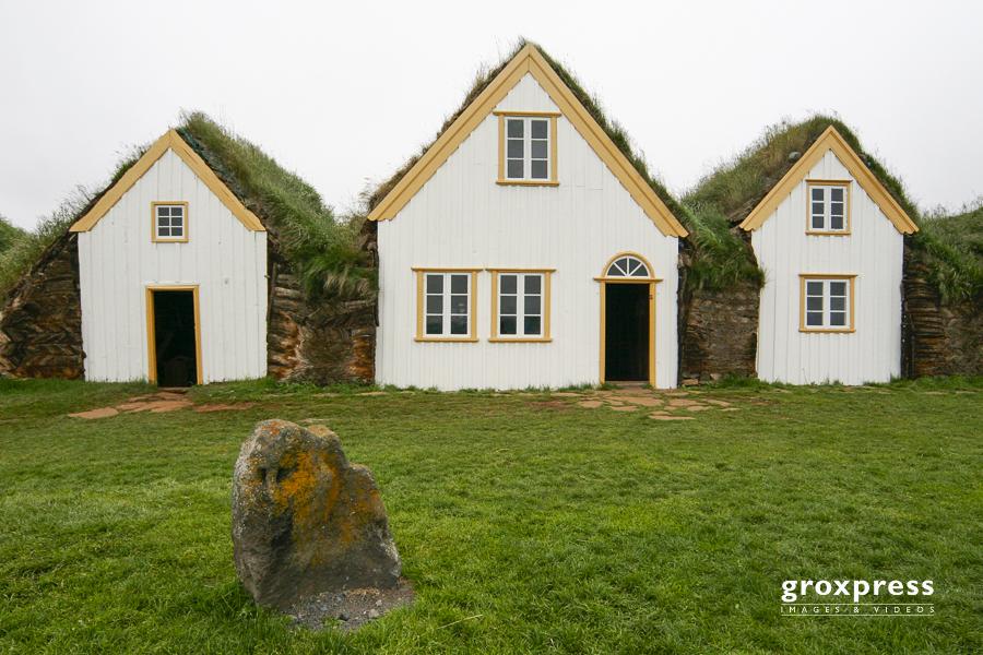 Grassodenhäuser in Glaumbaer