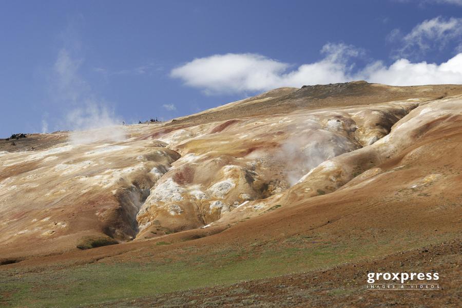 Solfatarenfelder in Namaskard