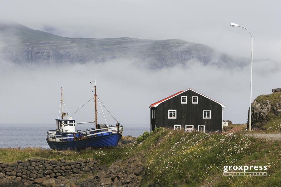 in den Ostfjorden (Djúpivogur)