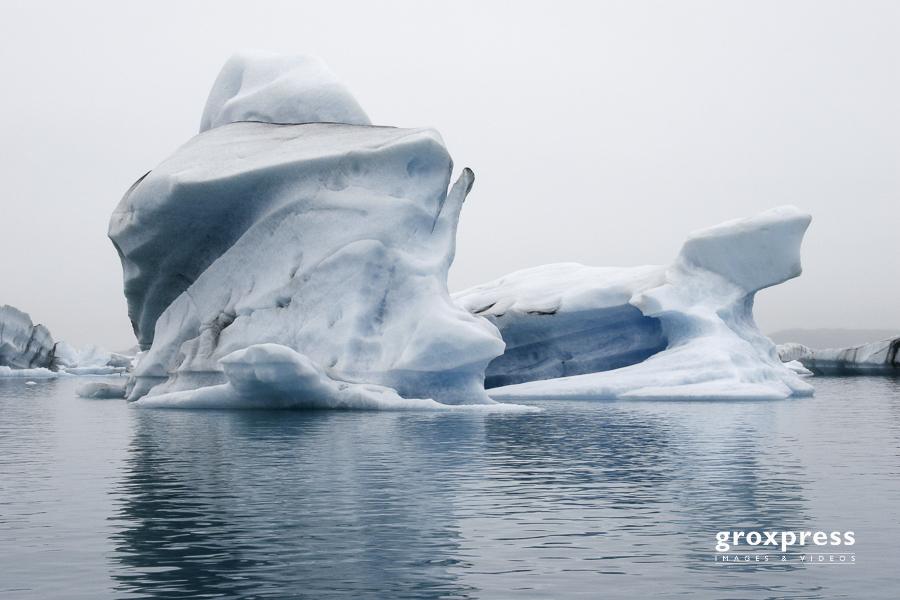 am Gletschersee Jökulsárlón