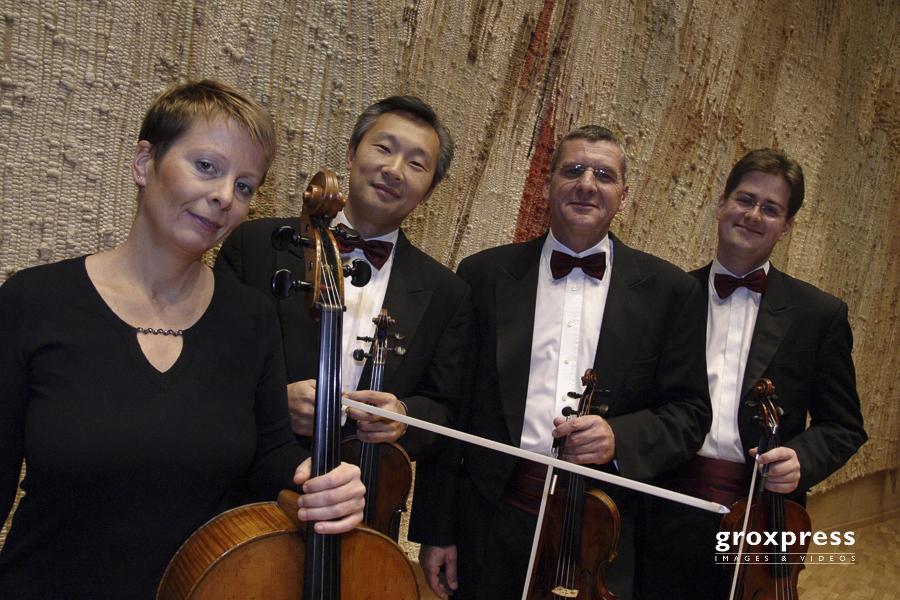 Kammermusik: Quartett Ambassador - Elisabeth Bauer (Violoncello)
