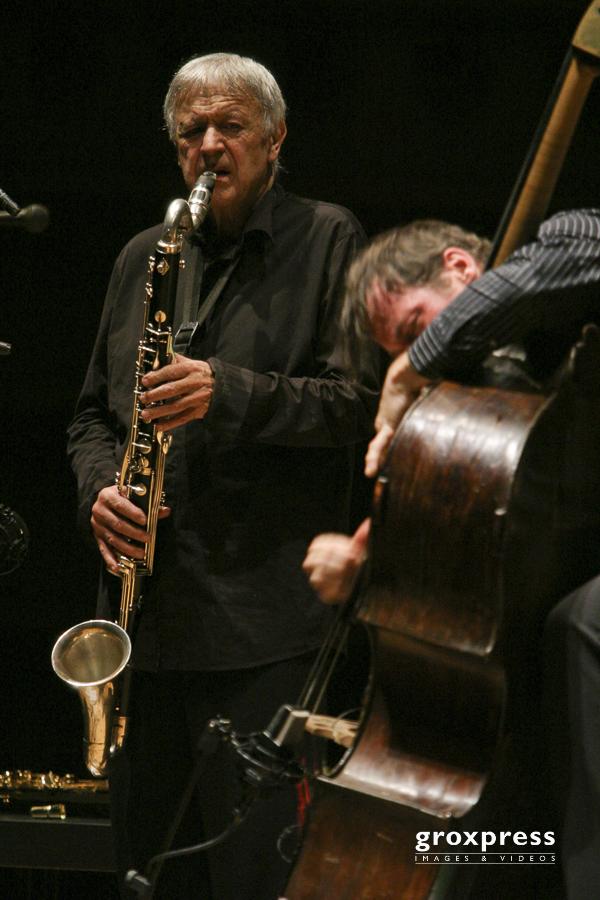 Michel Portal (bcl, ssax), Francois Moutin (upright bass); Bruck
