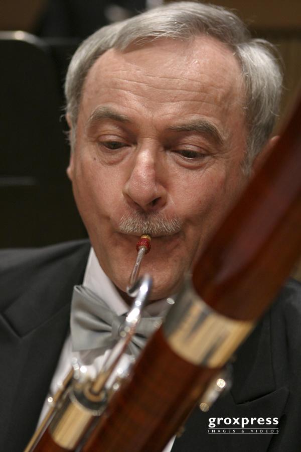 Fagottist (Johann Strauss Ensemble); Brucknerhaus Linz, 16.03.20