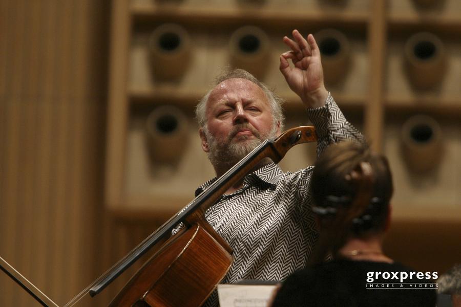 Heinrich Schiff (Violoncello, Dirigent); Brucknerhaus Linz, 04.0