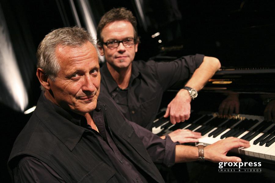 Konstantin Wecker (Klavier, Gesang, Lesung), Jo Barnikel (Keyboa