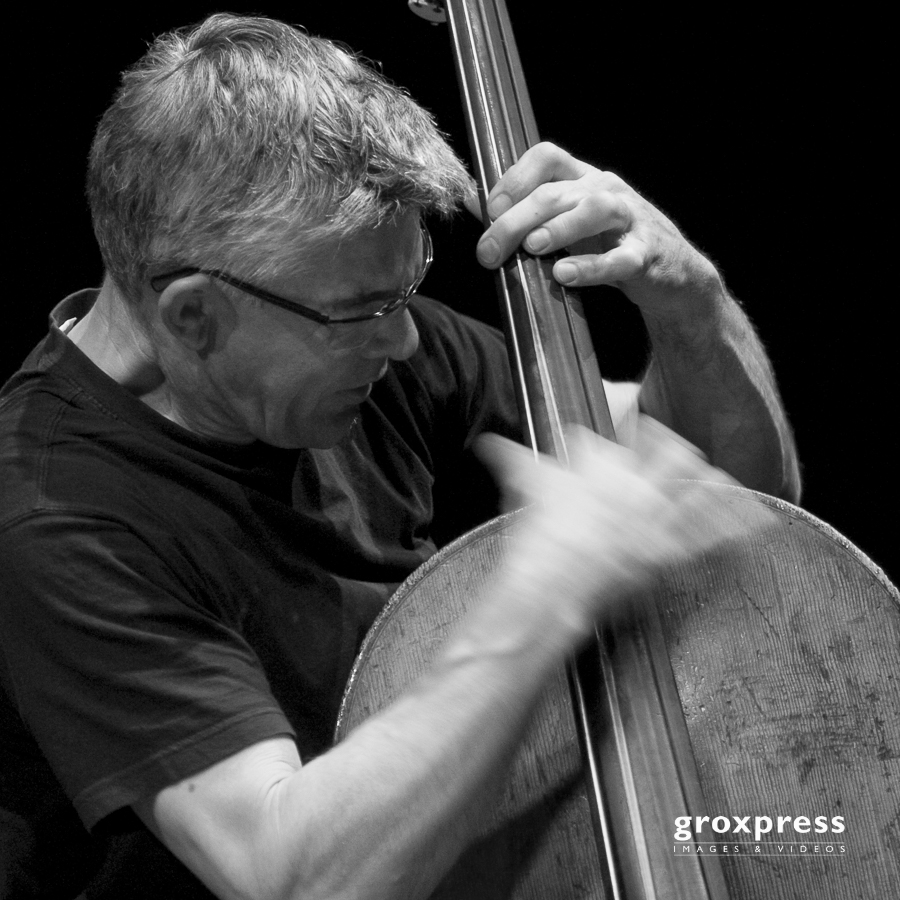 Eric Boeren Quartet - Wilbert deJoode (upright bass); Alter Schl