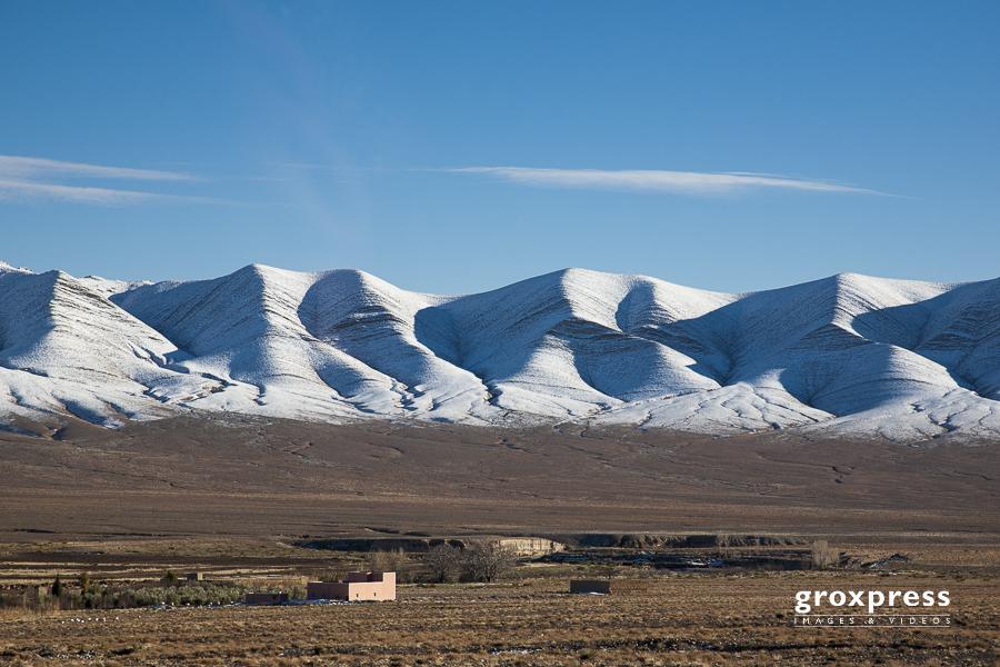 nördlich des Hohen Atlas