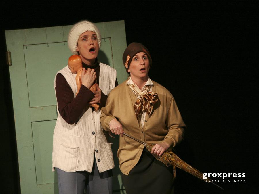 """Heimspiel08: Theater 3Samma - """"Nemanaund"""", Brigitte Gschaider un"""