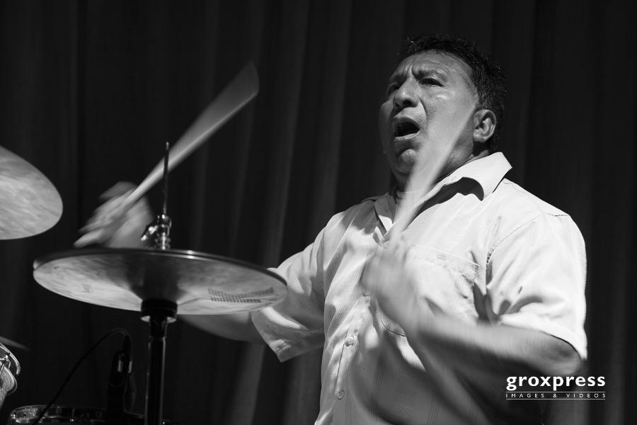 Jazzfestival Steyr: Per Mathisen Trio - Alex Acuna (drums & perc