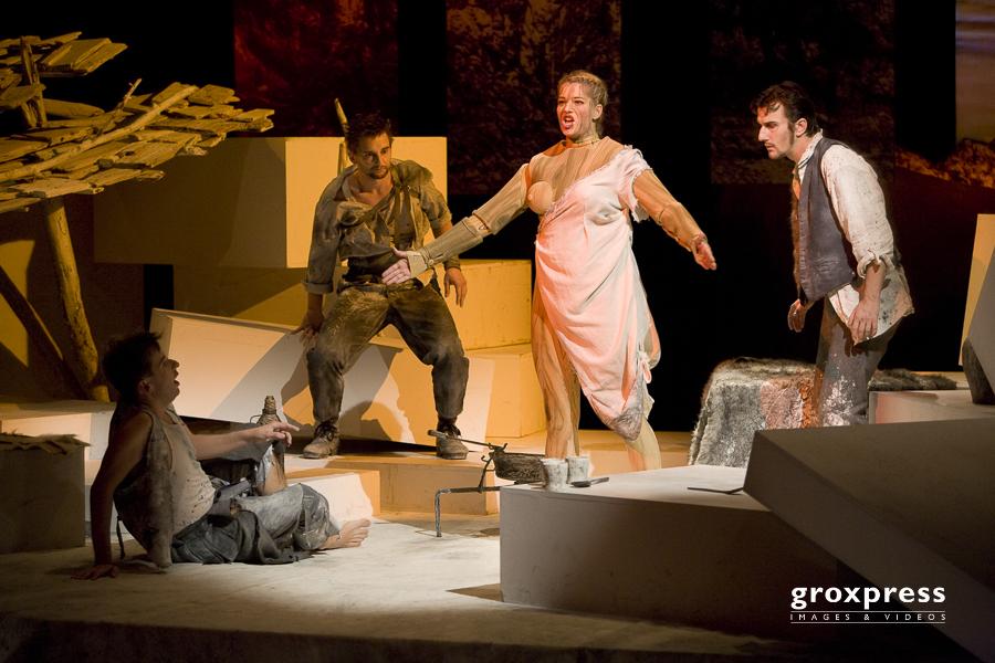 "Salzkammergut Festwochen Gmunden 2008: Uraufführung der Oper ""D"