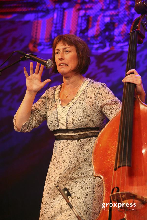 """29.Jazzfestival Saalfelden 2008: Hélène Labarière """"Les Temps"""