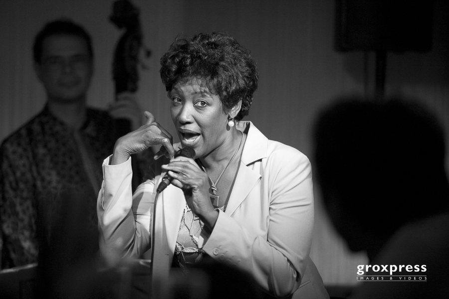 Carole Alston (voc); Count Davis Jazzclub Linz, 12.09.2008