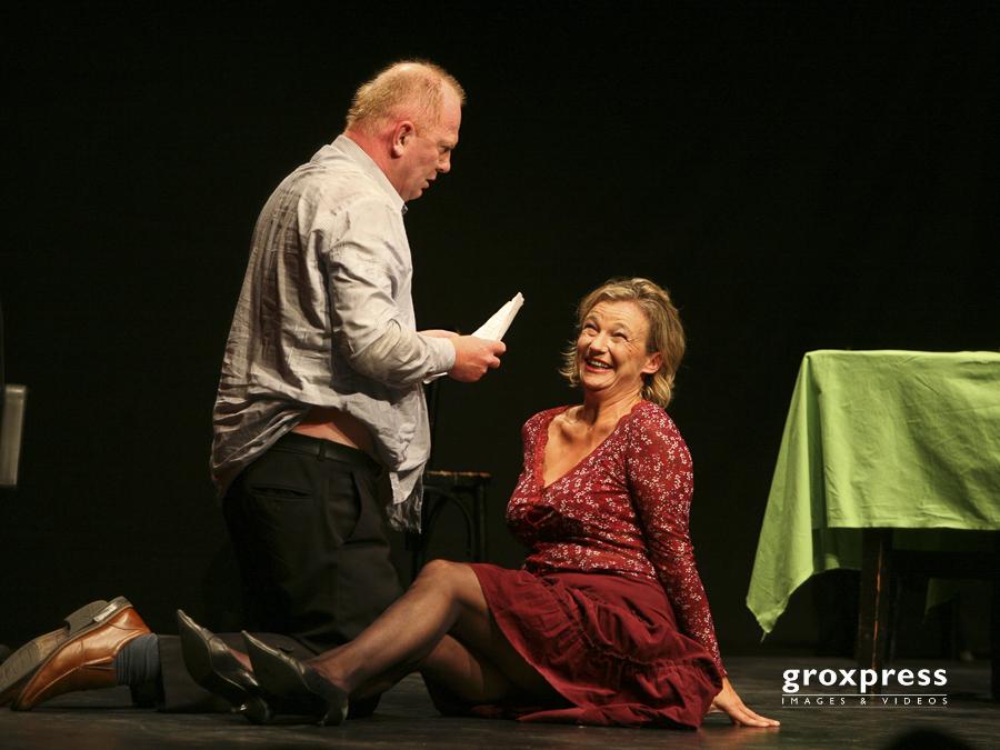 Edi Jaeger & Anita Köchl - Loriots dramatische Werke; Posthof L