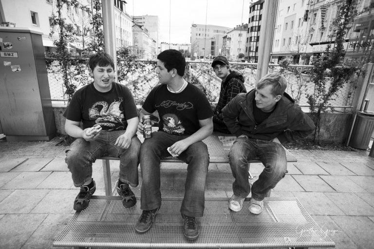 Jugend in Linz, (Projekt
