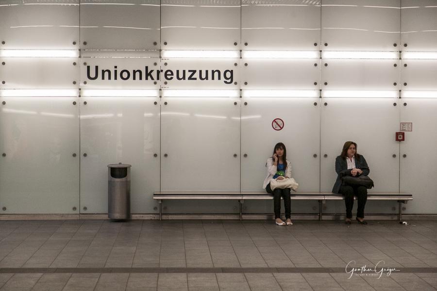 "waiting (Projekt ""Linie 1""), 14.07.2009"