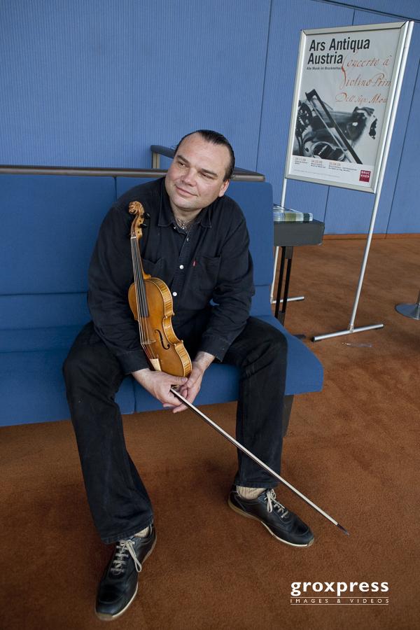 Ars Antiqua Austria: Gunar Letzbor (Leitung, Violine); Brucknerh