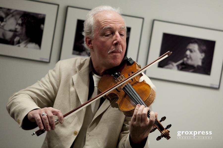 GRAPPELLISSIMO - Mic Oechsner (violin); Kulturtreff Altes Kino S