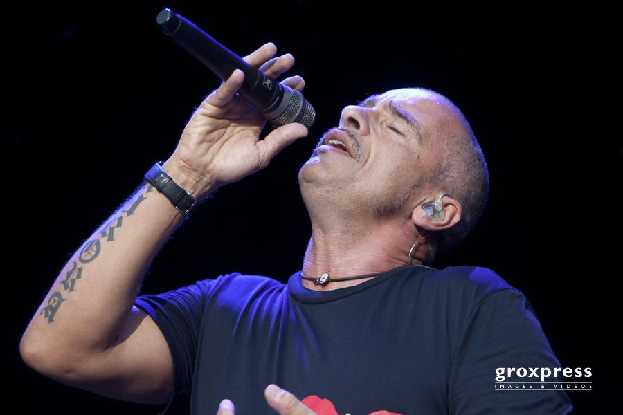 Clam Concerts 2010: Eros Ramazotti (voc.); Burg Clam, 15.07.2010