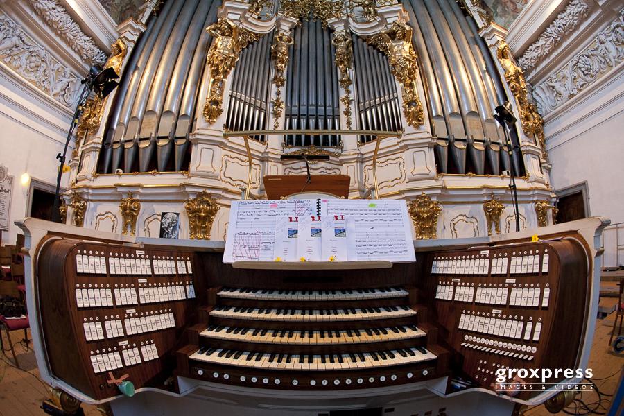 Bruckner-Orgel; Stiftsbasilika St. Florian, 16.08.2010
