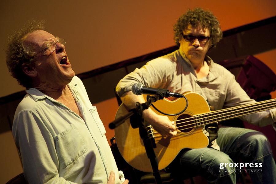 Triolex - Phil Minton (voc), Luc Ex (ac.bass); Jazzatelier Ulric