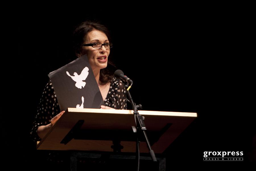 Verbrannte Bücher - Verfemte Musik: Iris Berben (Rezitation); B