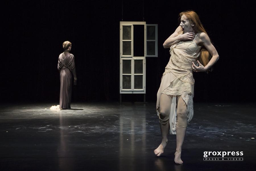 TanzTage 2013 Labor: Natascha Wöss (Butoh, Choreografie) & Dori