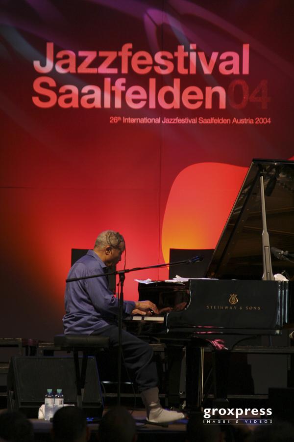 Jazzfestival Saalfelden 04: Cecil Taylor (p); 28.04.2004