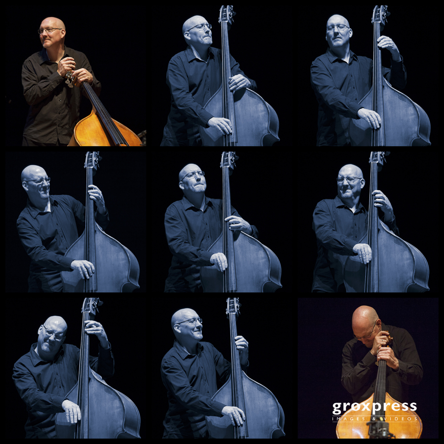 Jim Hall Trio: Scott Colley (bass); Brucknerhaus Linz, 16.04.201